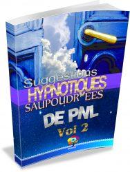 E-book de Suggestions Hypnotiques saupoudrées de PNL VOL 2